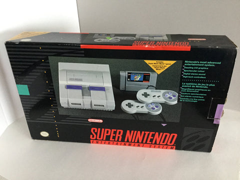 Super Nintendo (Boxed) - SNES