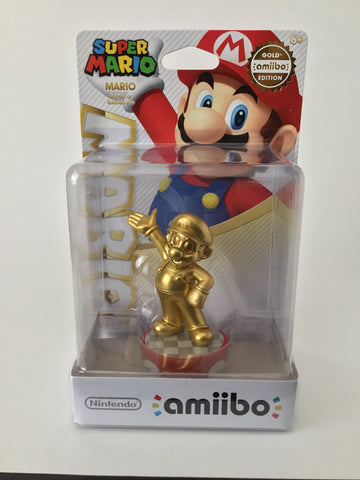 """Gold"" Super Mario Amiibo"