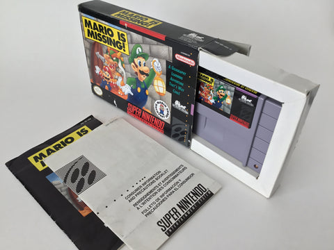 Mario is Missing (CIB) - SNES