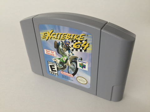 Excitebike 64 Not for Resale - N64