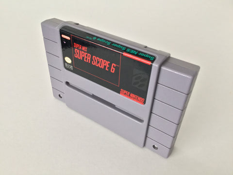Super Scope 6 (Cart only) - SNES