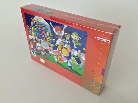 Pop'n Twinbee Rainbow Adventures (Homebrew Game) Sealed - SNES