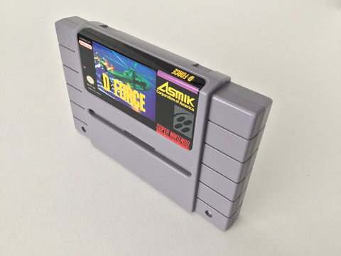 D Force - SNES