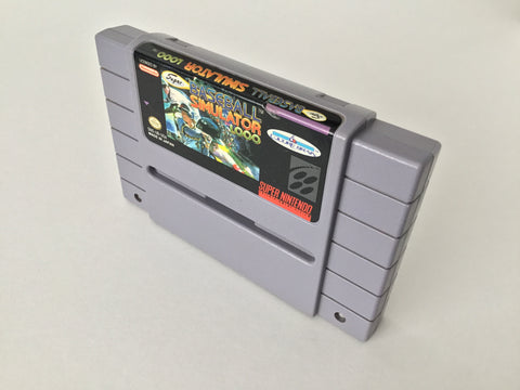 Baseball Simulator 1000 - SNES