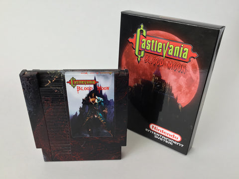 Castlevania Blood Moon (Homebrew) - NES