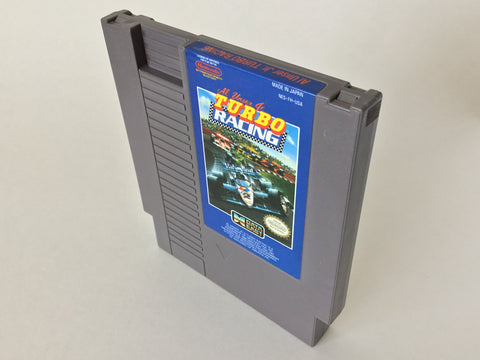 Al Unser Jr Turbo Racing - NES