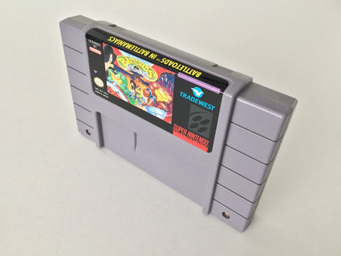 Battletoads in Battlemaniacs - SNES