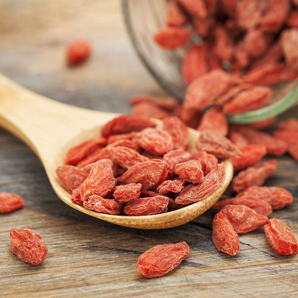 Organic Nuts & Berries - Goji Berries, Golden Berries, White Mulberries, Jungle Peanuts - Foods Alive