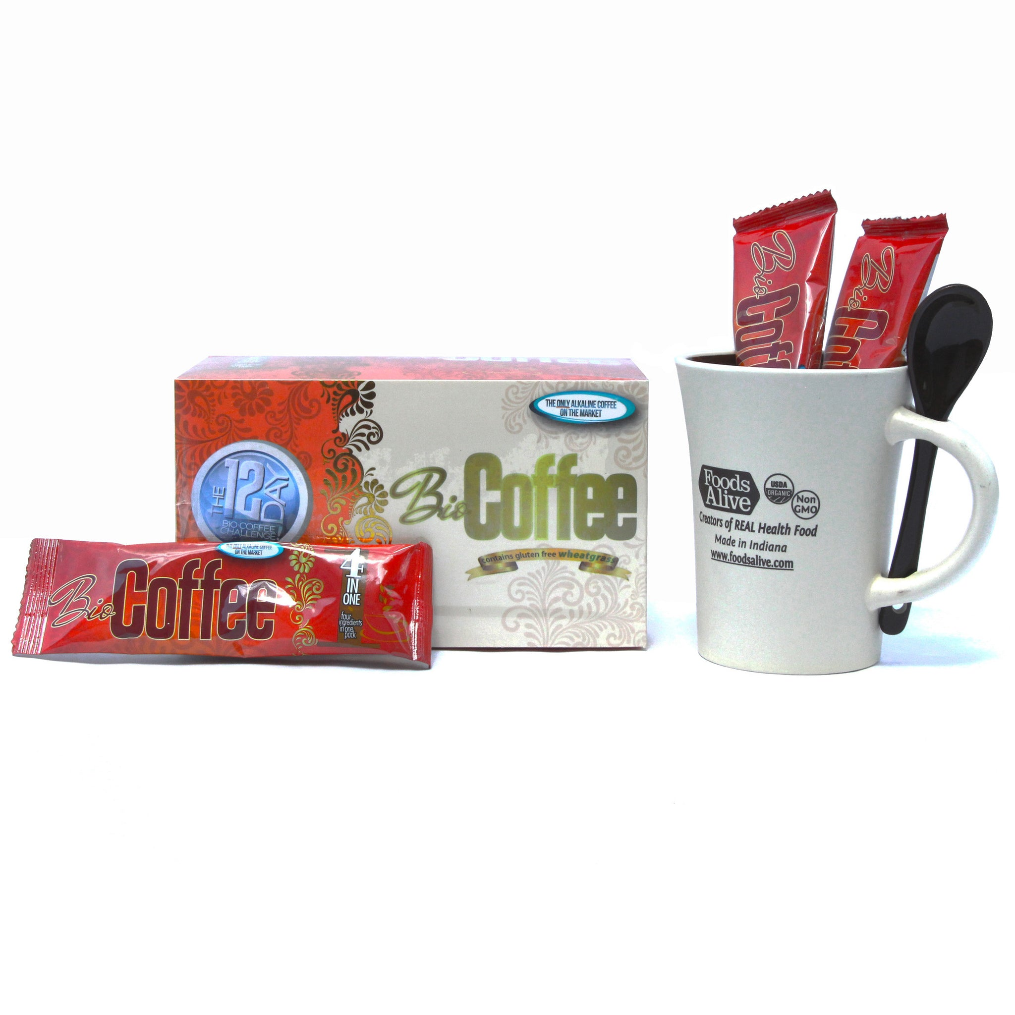 Bio Coffee - Alkalizing Coffee - Foods Alive