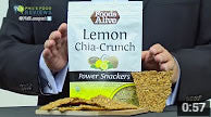 Foods Alive Lemon Chia Power Snackers Are A HIT!