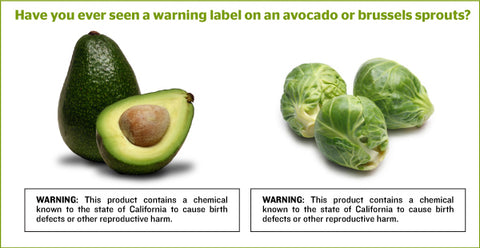Proposition 65 Foods Alive