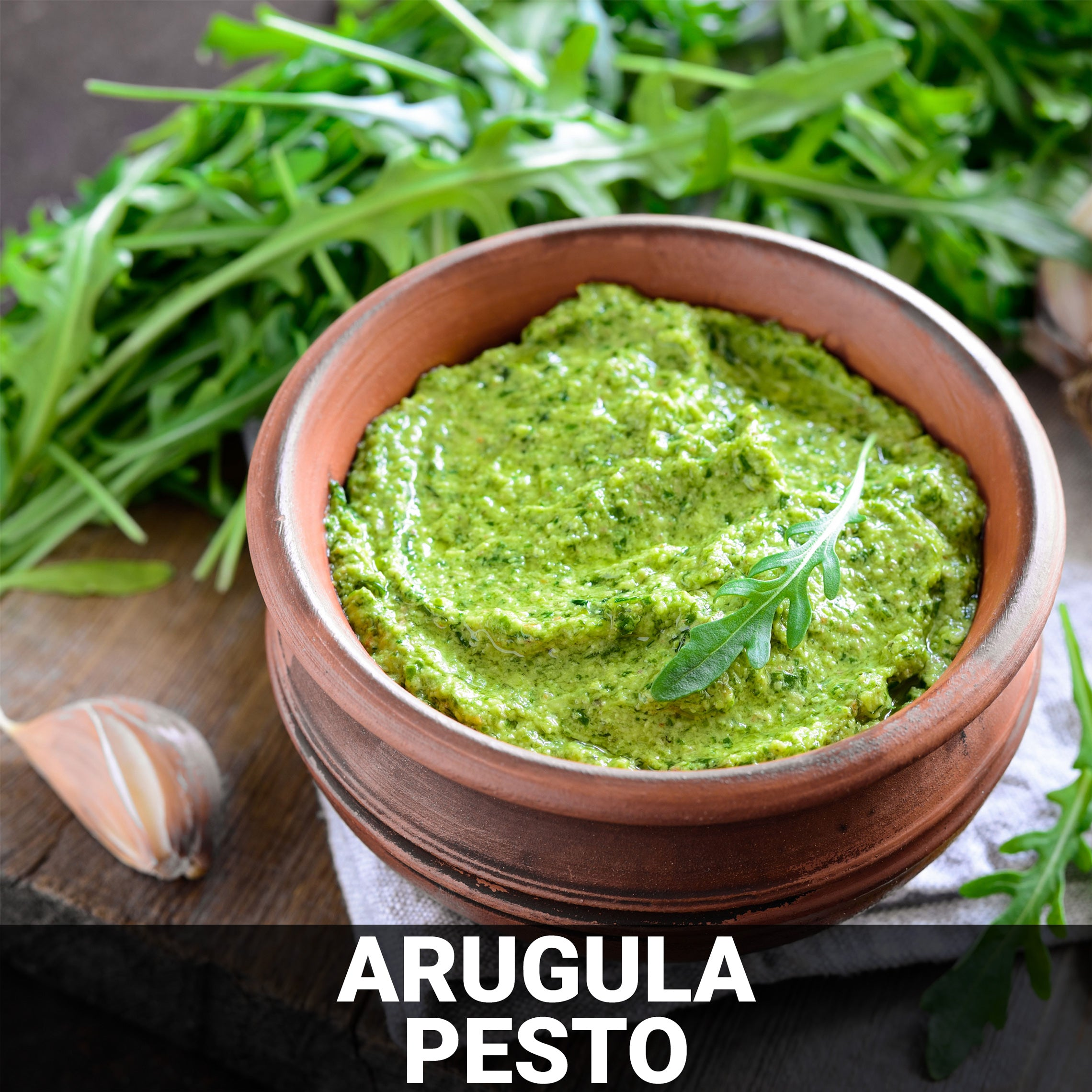 Arugula Pesto Recipe - Foods Alive