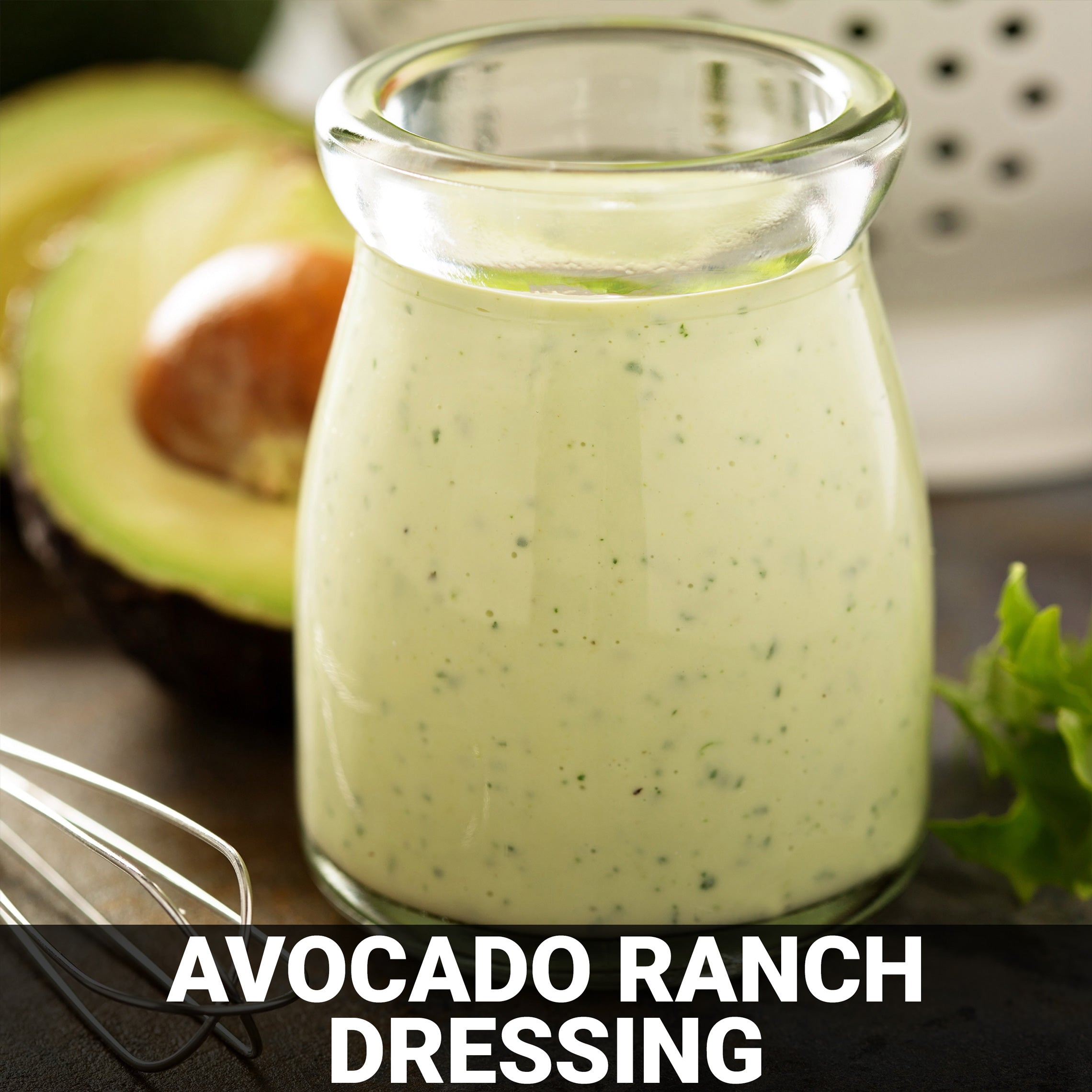 Avocado Ranch Dressing Recipe - Foods Alive