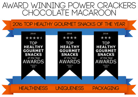 Taste TV Award Winning Chocolate Macaroon Power Crackers