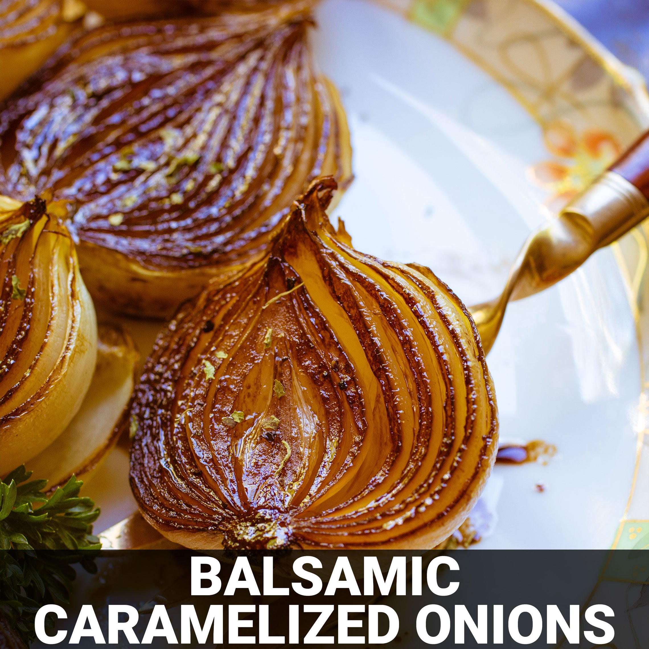 Balsamic Caramelized Onions Recipe - Foods Alive