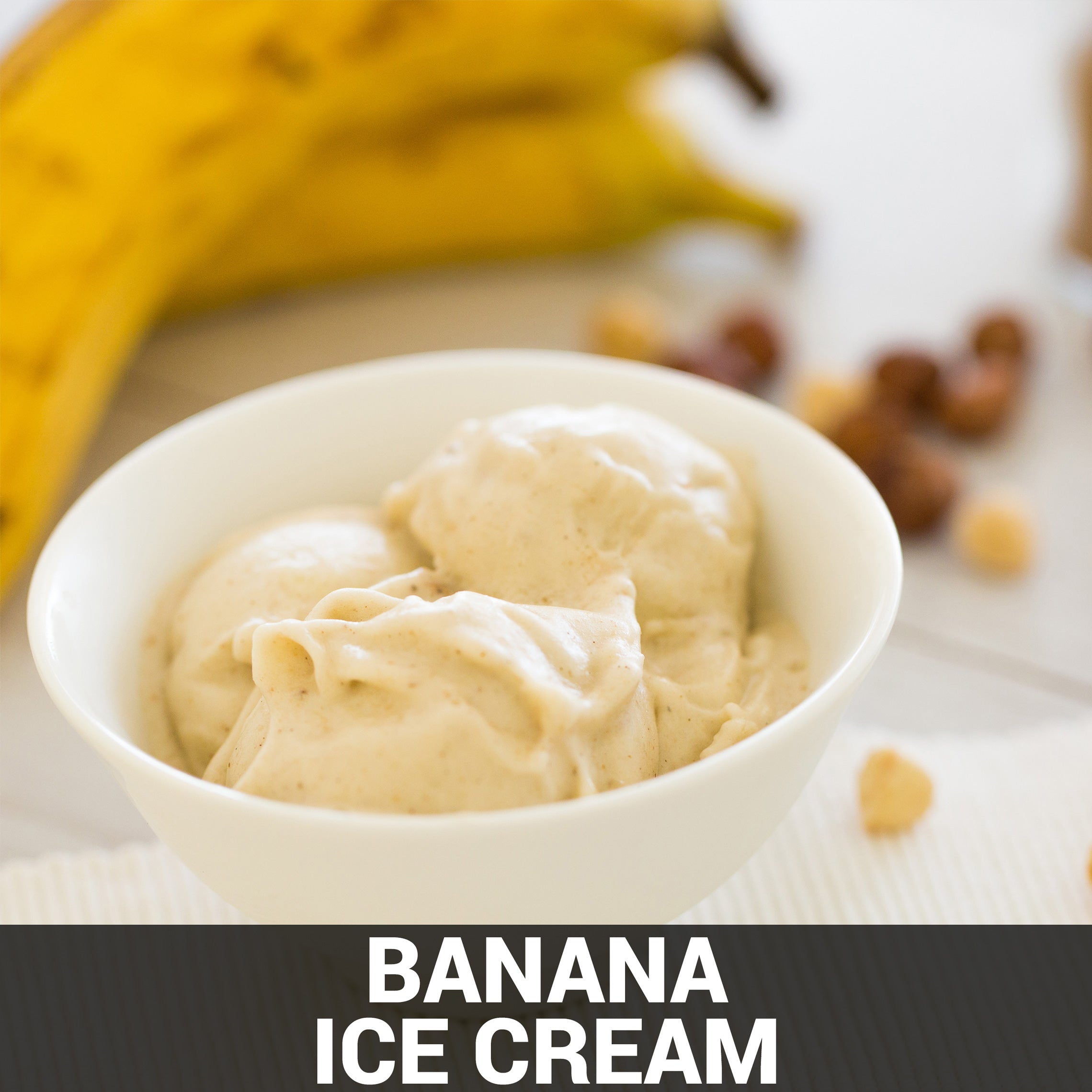 Banana Ice Cream Recipe - Foods Alive