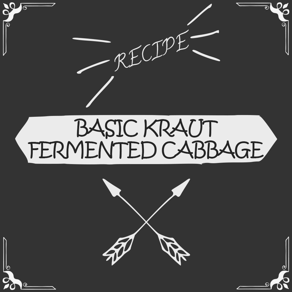 Basic Kraut (Fermented Cabbage) Recipe - Foods Alive