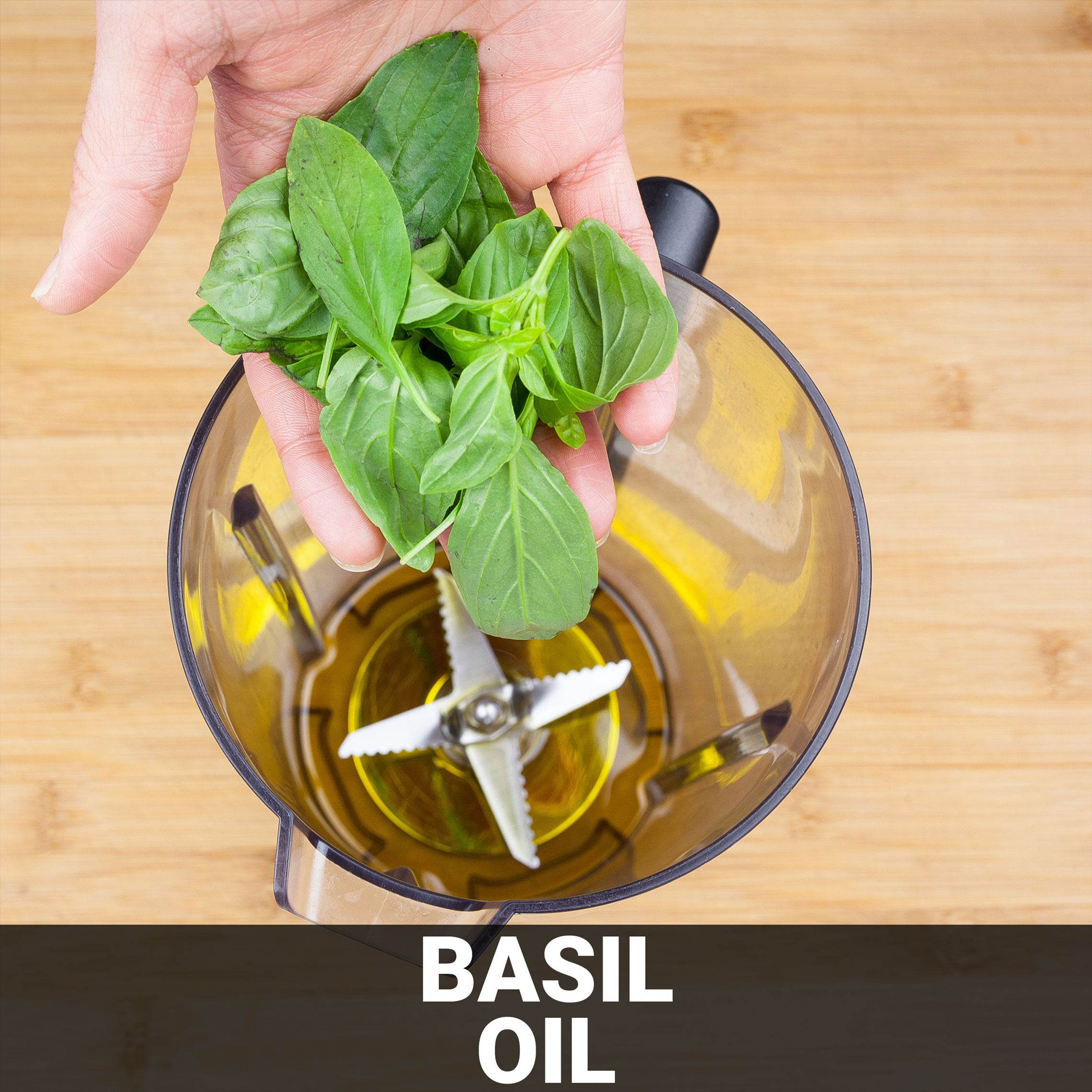 Basil Oil Recipe - Foods Alive