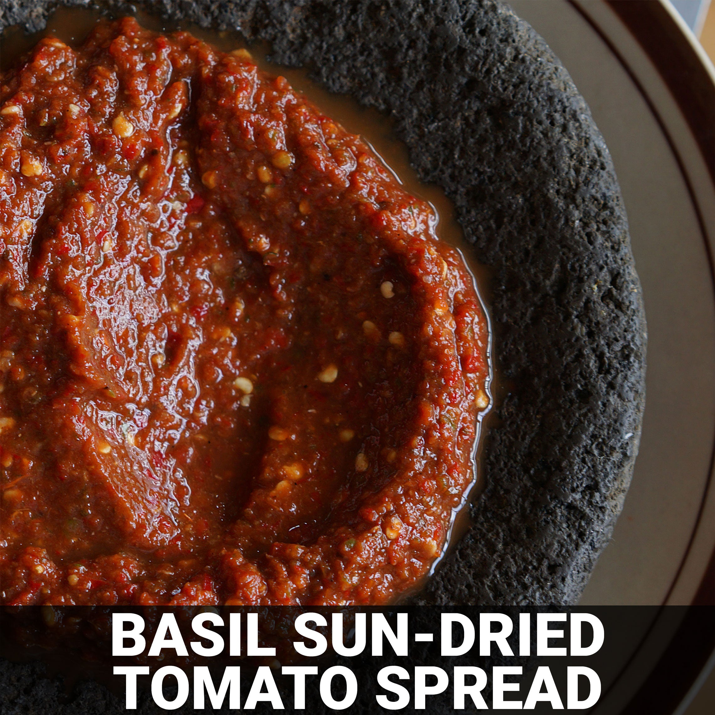 Basil Sun-Dried Tomato Spread Recipe - Foods Alive
