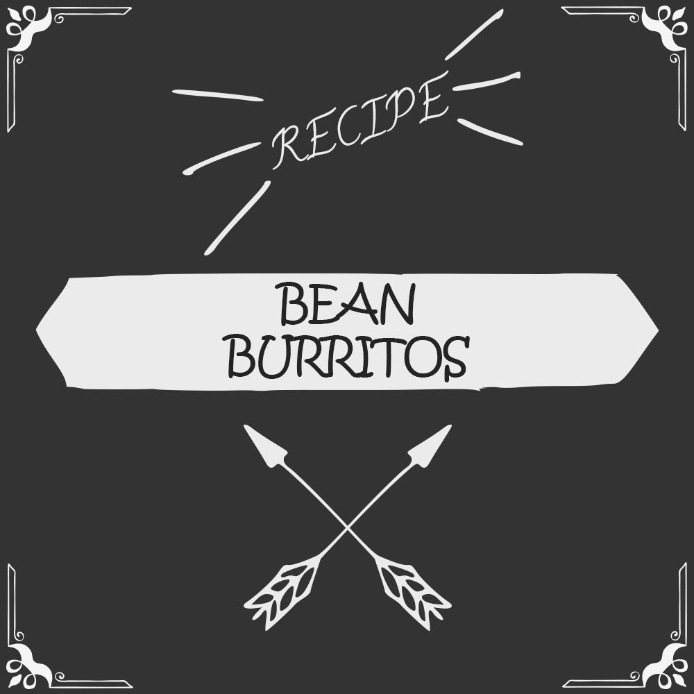 Bean Burritos Recipe - Foods Alive