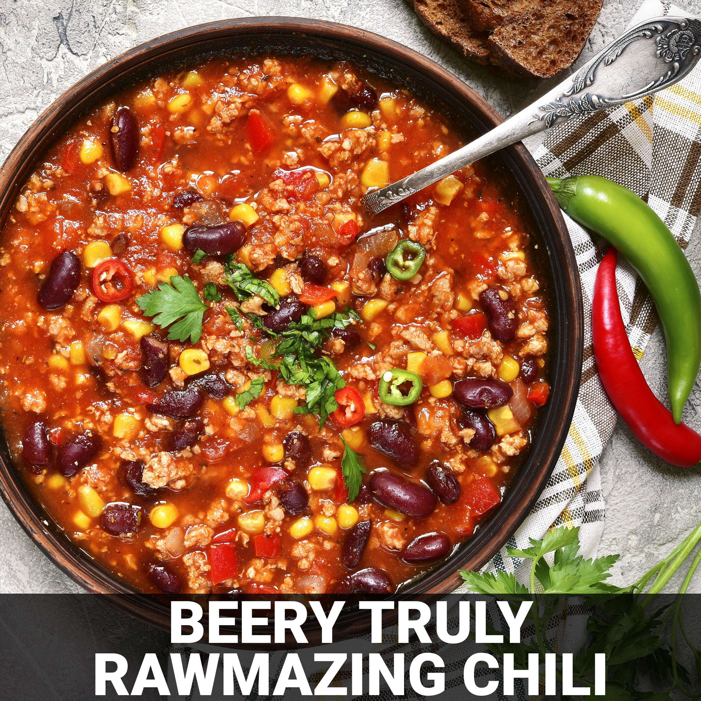 Beery Truly RAWmazing Chili Recipe - Foods Alive