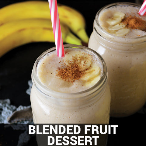 Blended Fruit Dessert Recipe - Foods Alive