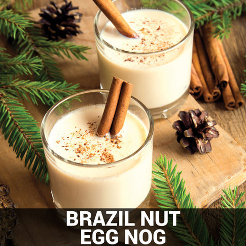Brazil Nut Egg Nog Recipe - Foods Alive