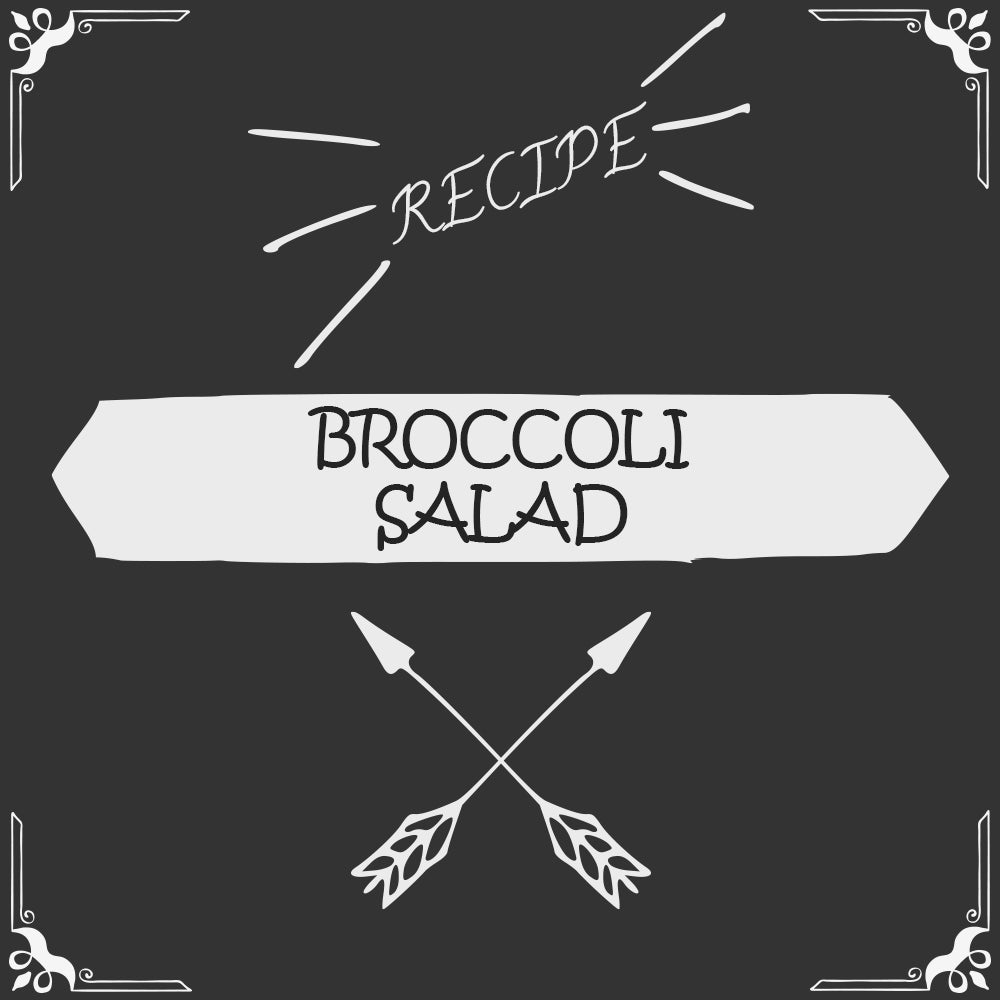 Broccoli Salad Recipe - Foods Alive