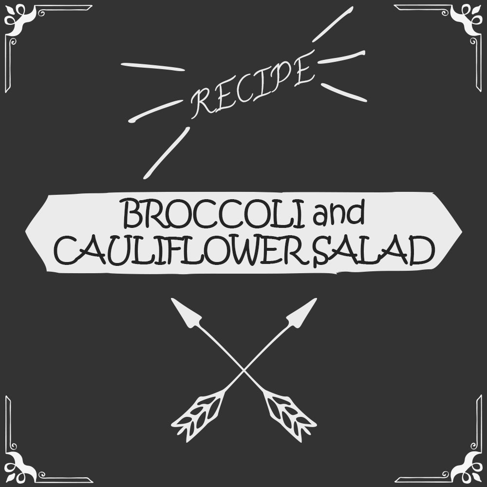 Broccoli and Cauliflower Salad Recipe - Foods Alive