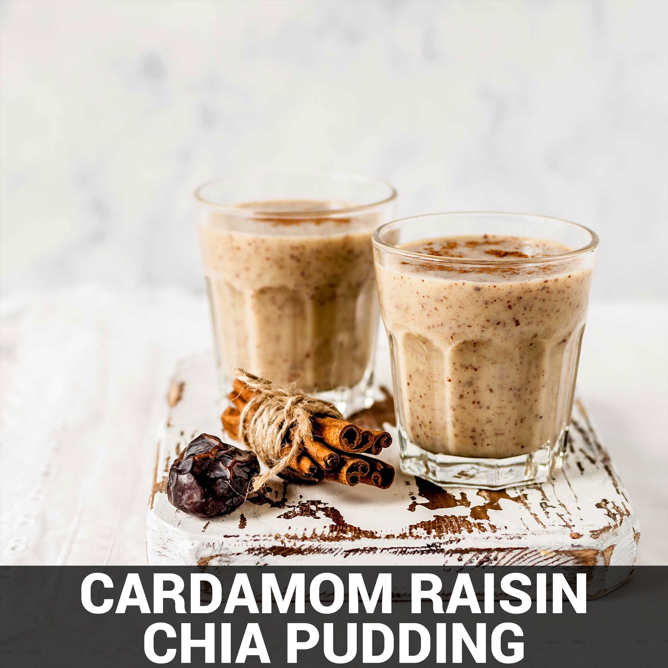 Cardamom Raisin Chia Pudding Recipe - Foods Alive