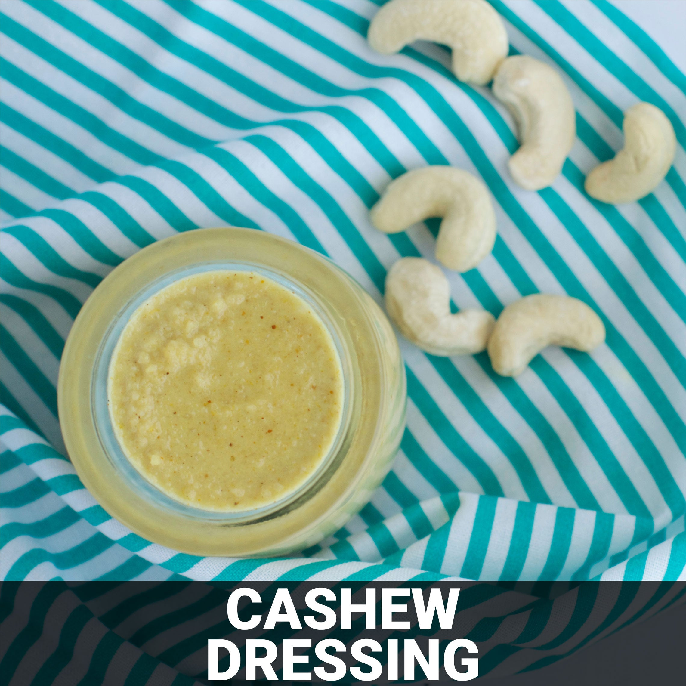 Cashew Dressing Recipe - Foods Alive