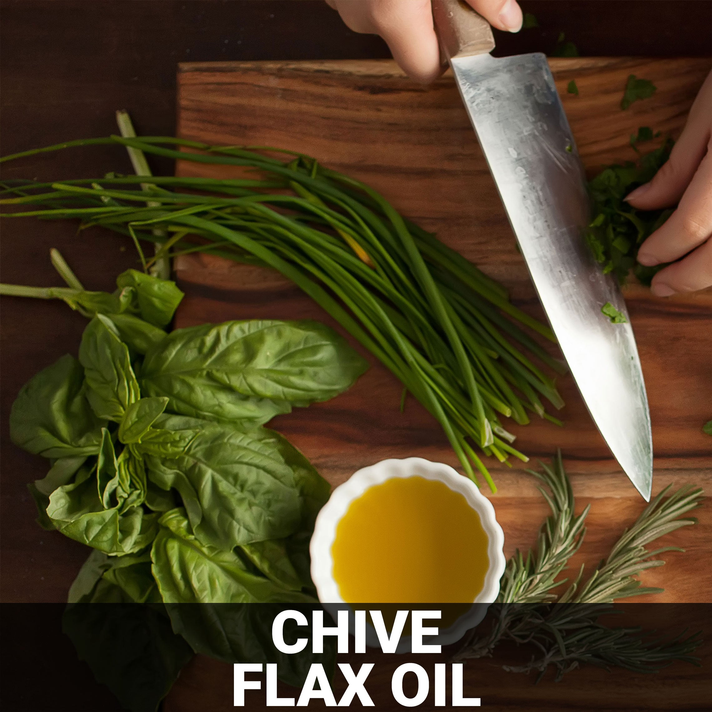 Chive Flax Oil Recipe - Foods Alive