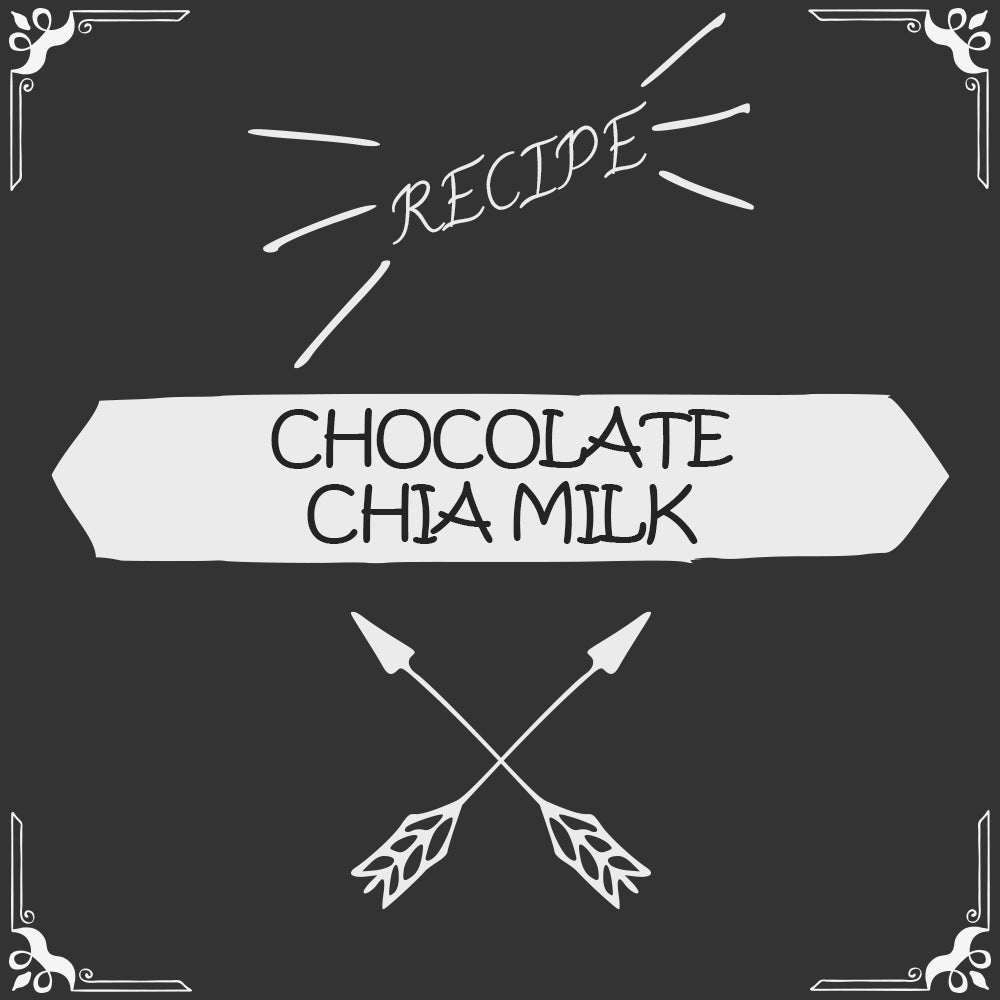 Chocolate Chia Milk Recipe - Foods Alive