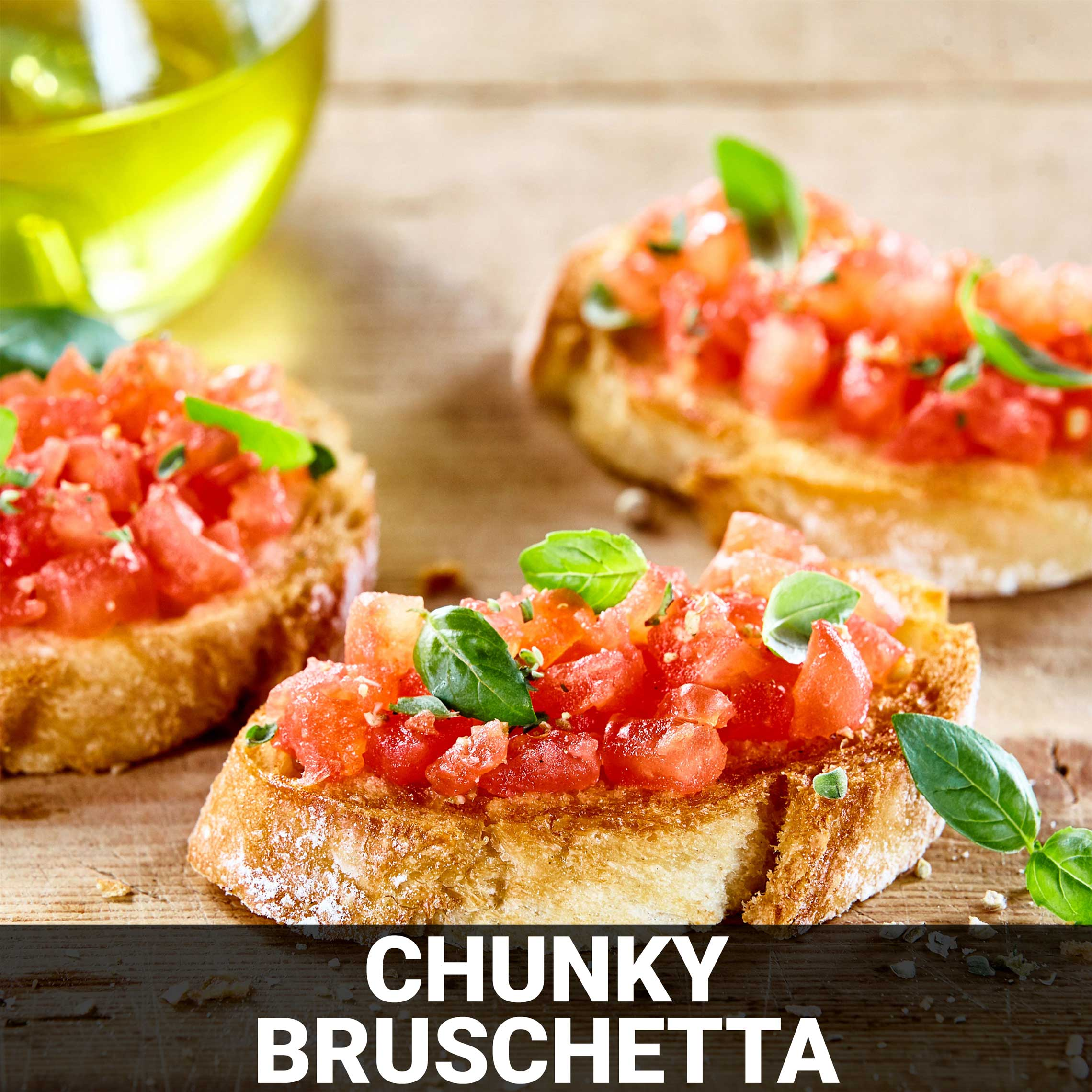 Chunky Bruschetta Recipe - Foods Alive