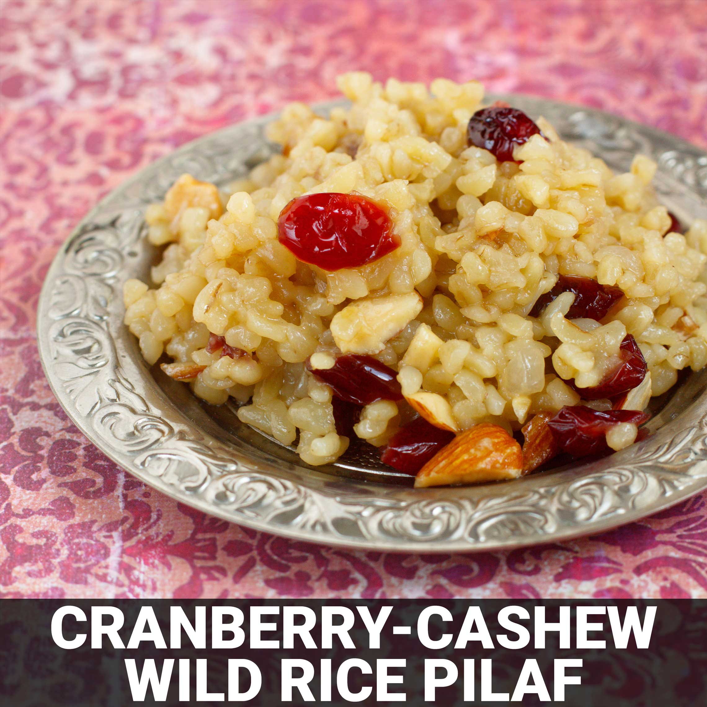 Cranberry-Cashew Wild Rice Pilaf Recipe - Foods Alive