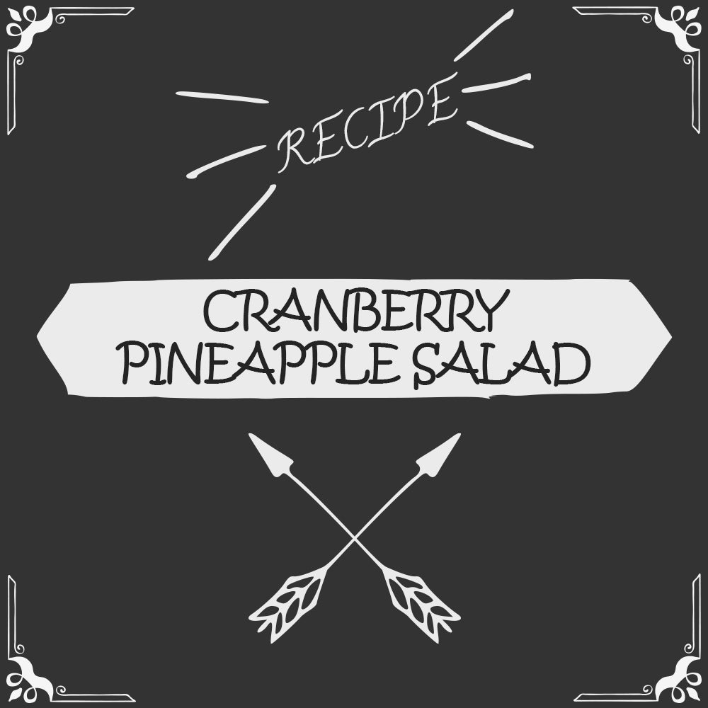 Cranberry Pineapple Salad Recipe - Foods Alive