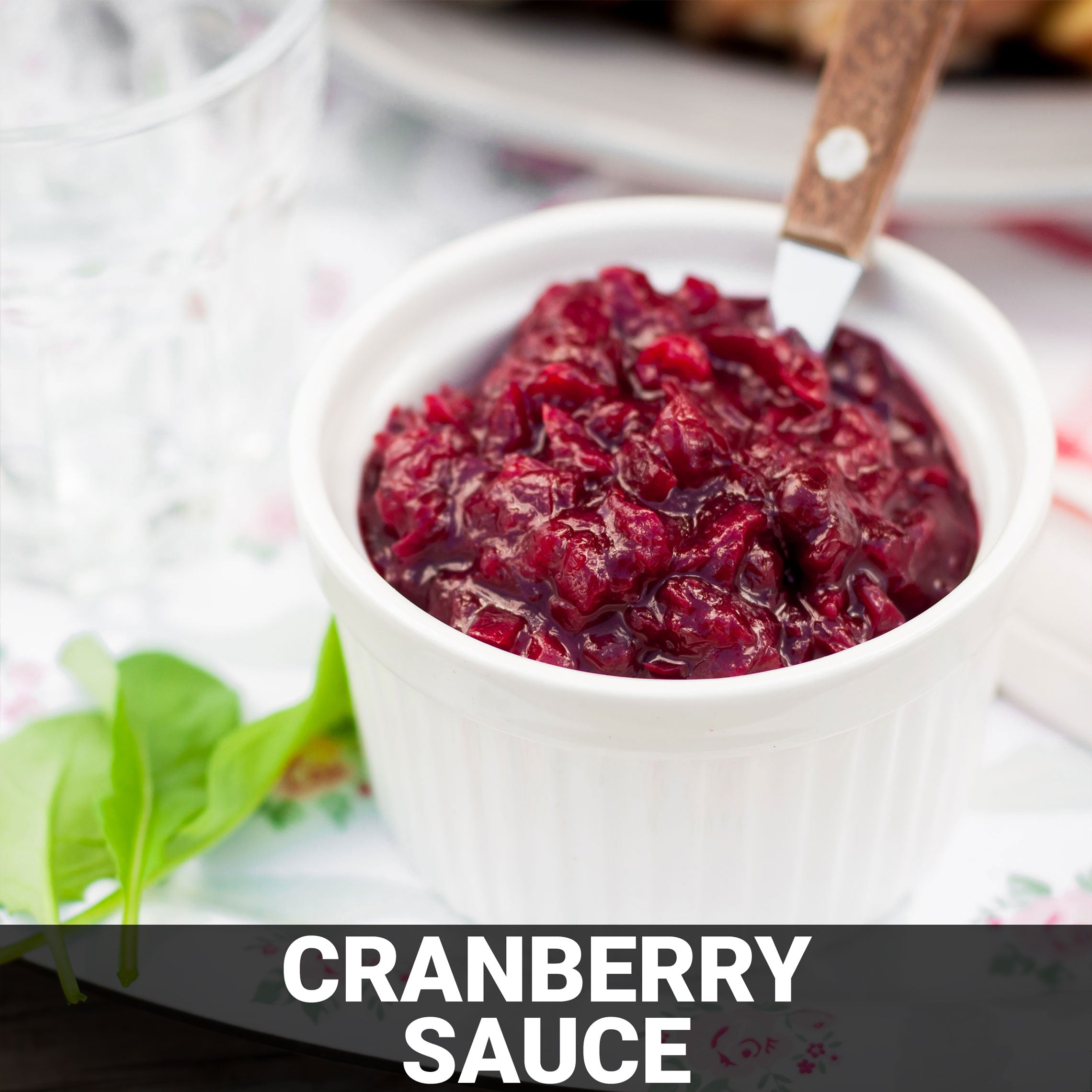 Cranberry Sauce Recipe - Foods Alive