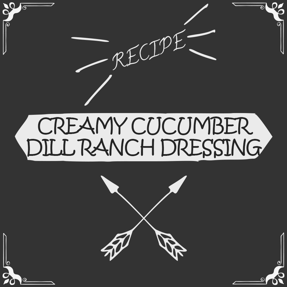 Creamy Cucumber Dill Ranch Dressing Recipe - Foods Alive
