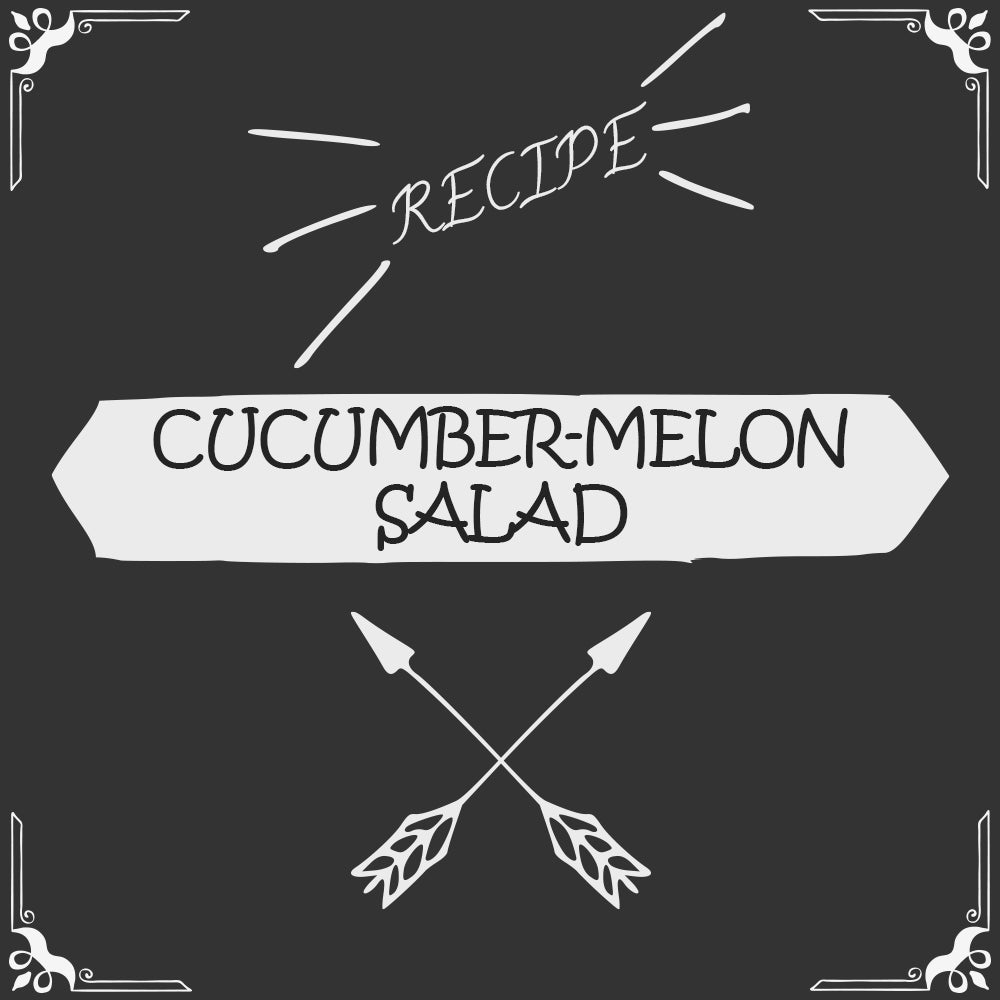Cucumber-Melon Salad Recipe - Foods Alive