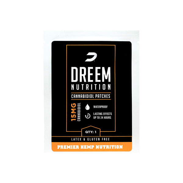 Foods Alive - CBD Trans-Dermal Patch - DREEM Nutrition
