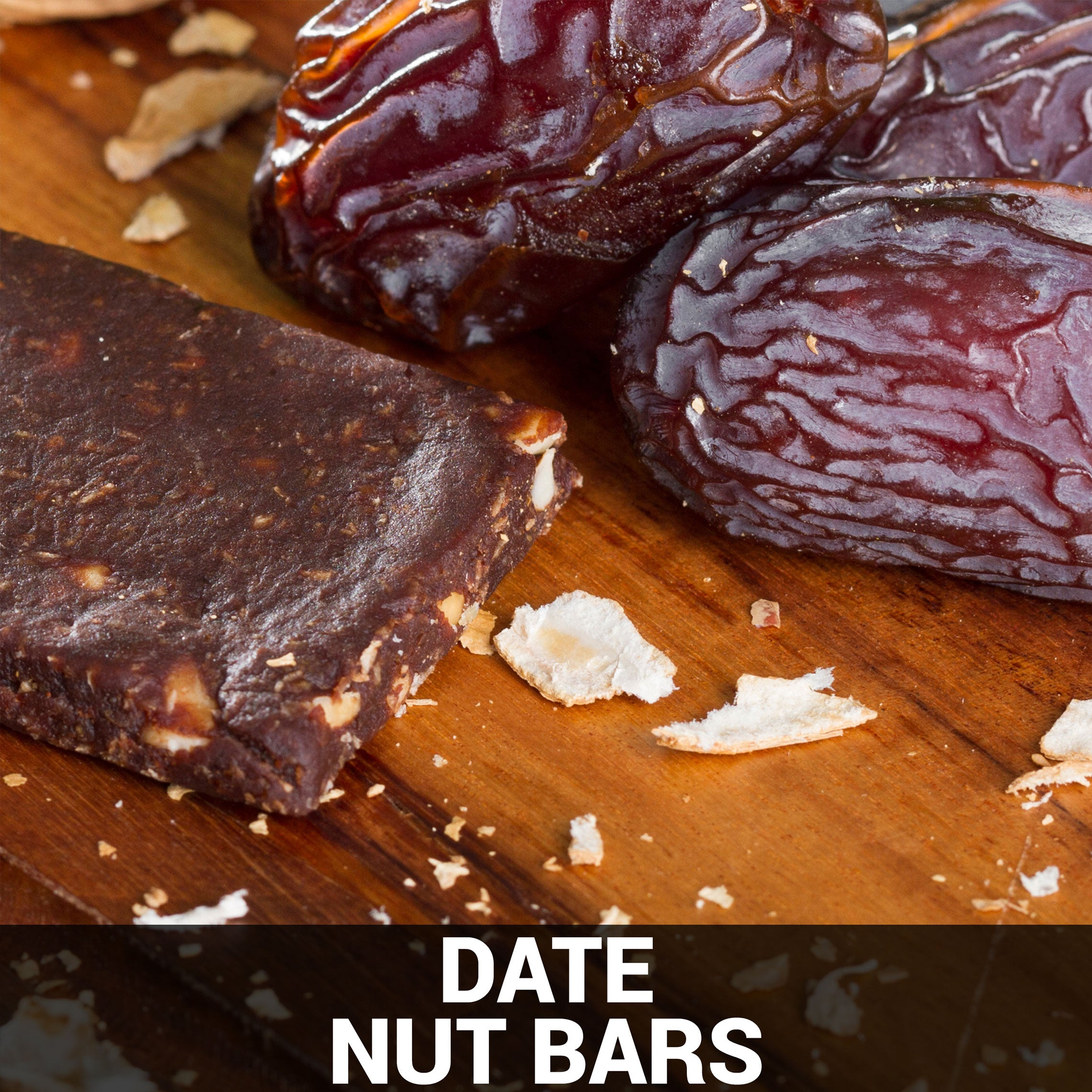 Date Nut Bars Recipe - Foods Alive