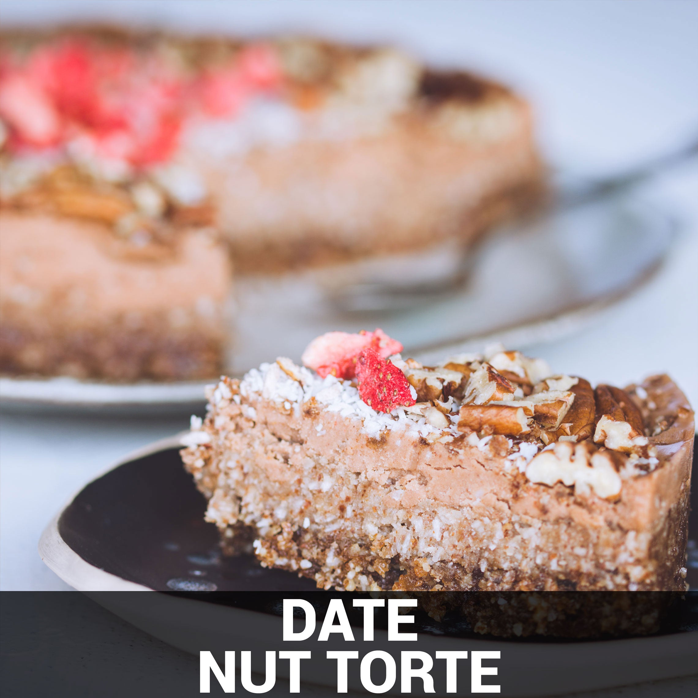 Date Nut Torte Recipe - Foods Alive