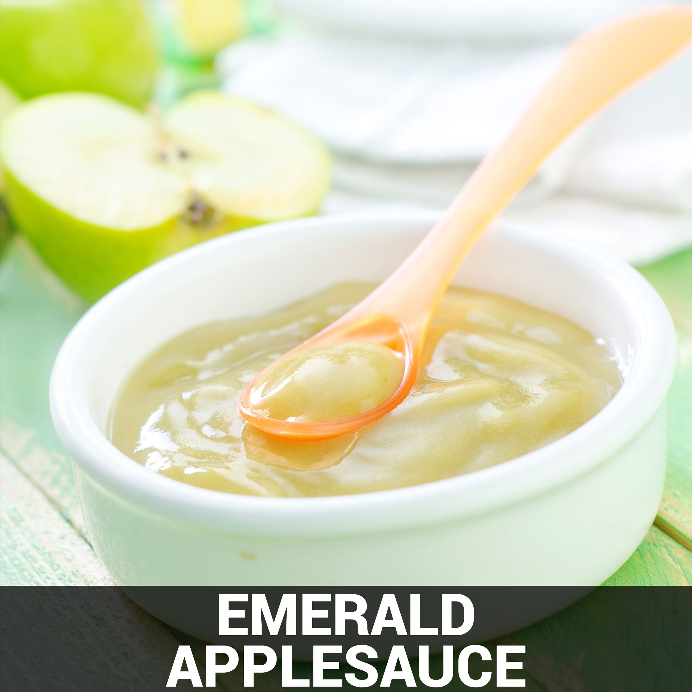Emerald Applesauce Recipe - Foods Alive