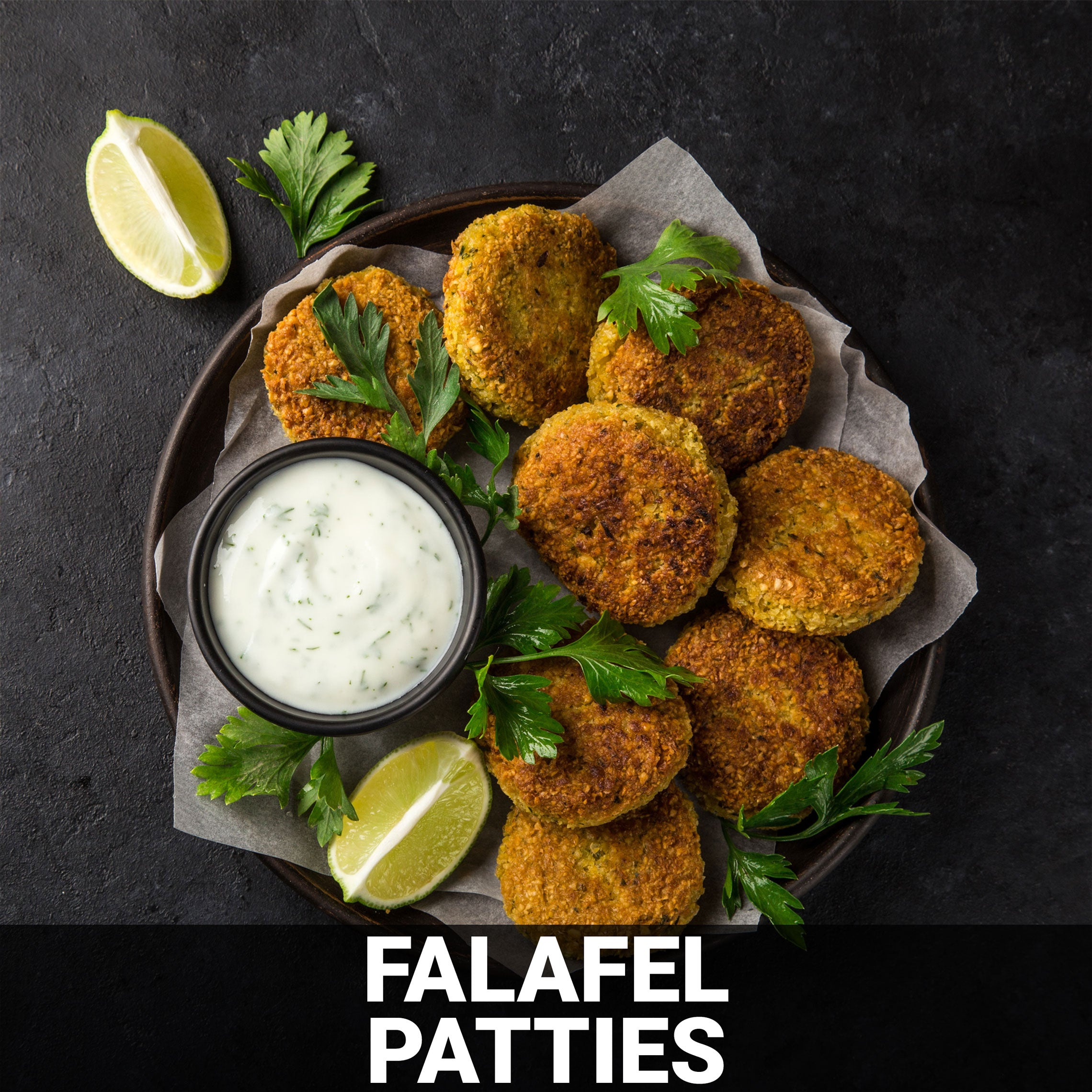 Falafel Patties Recipe - Foods Alive