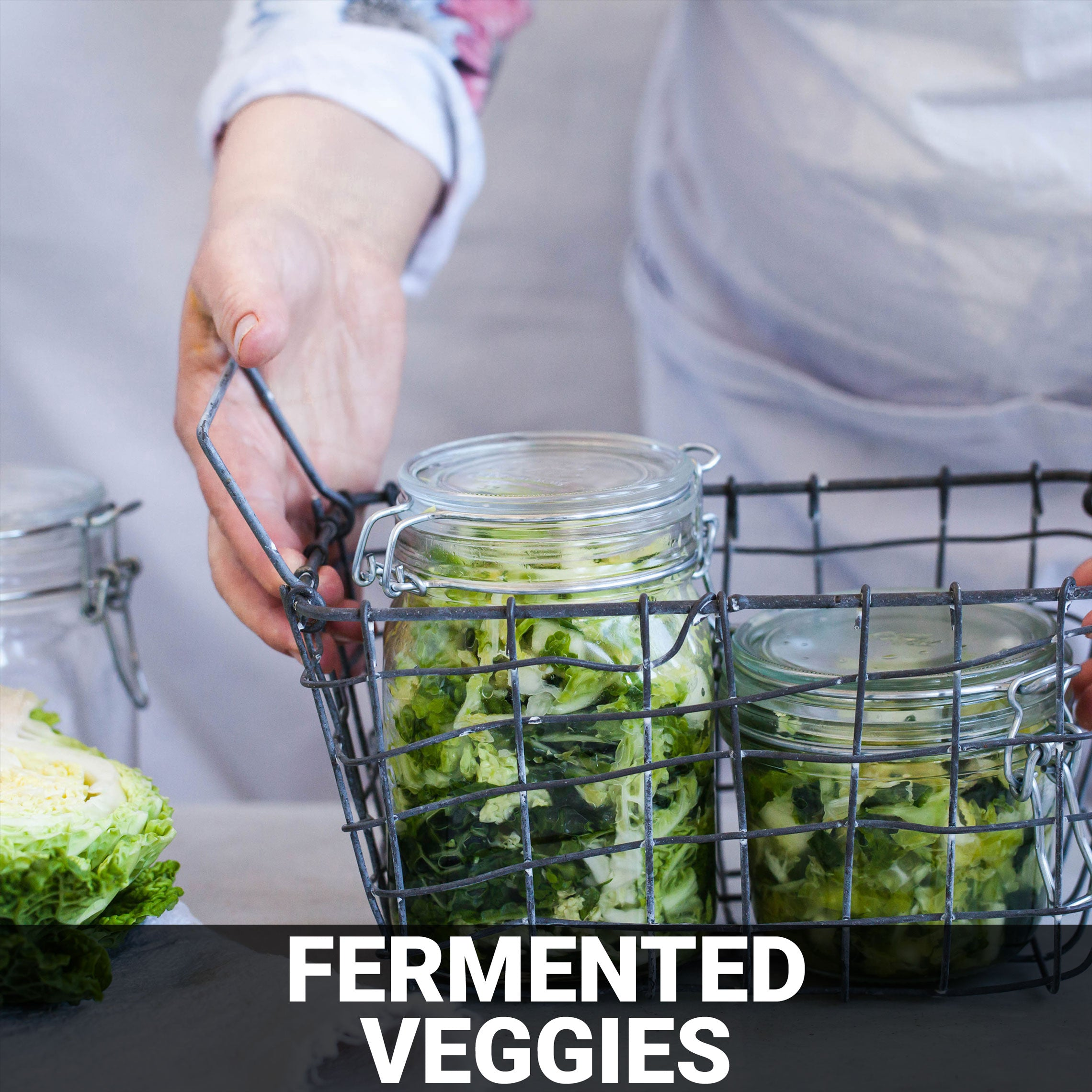 Fermented Veggies Recipe - Foods Alive