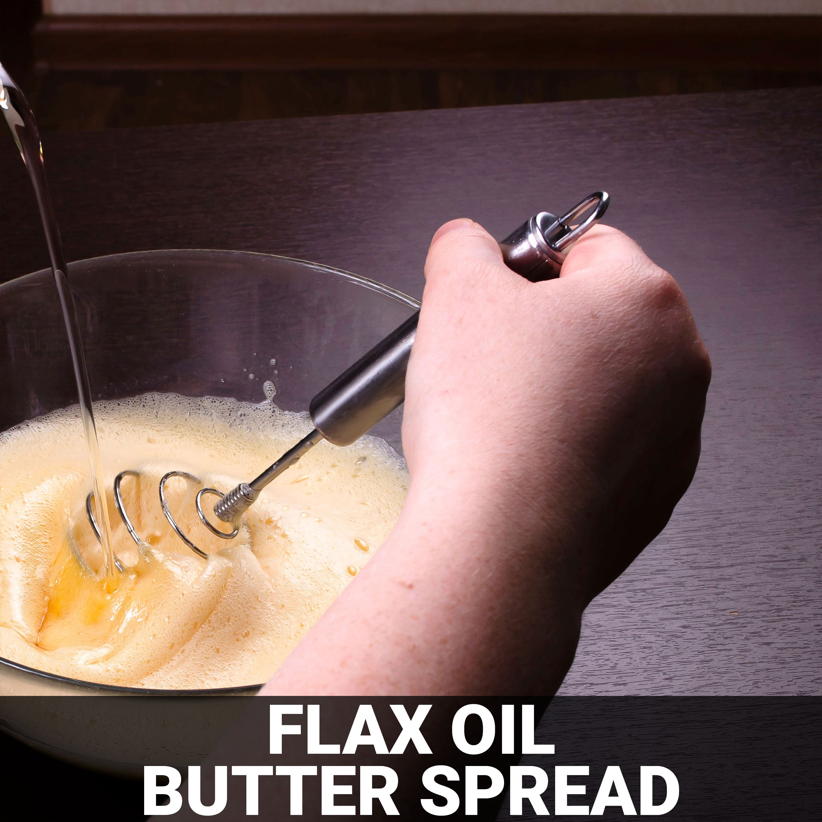 Flax Oil Butter Spread Recipe - Foods Alive