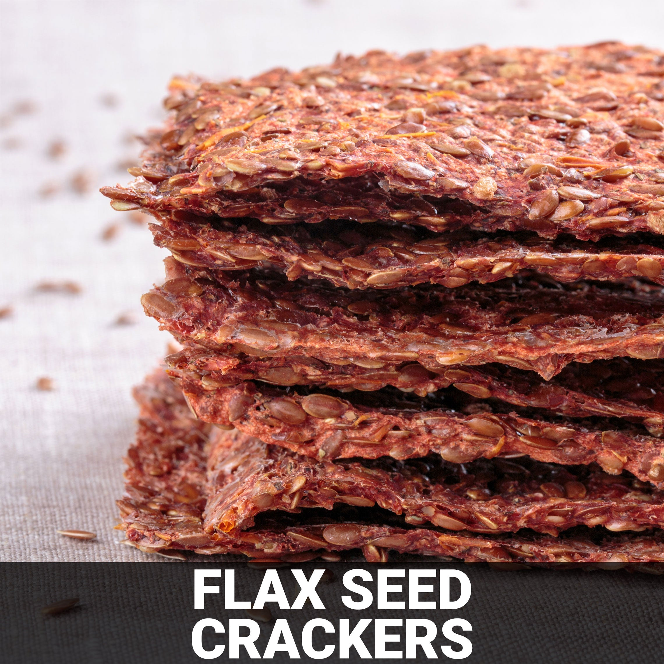 Flax Seed Crackers Recipe - Foods Alive