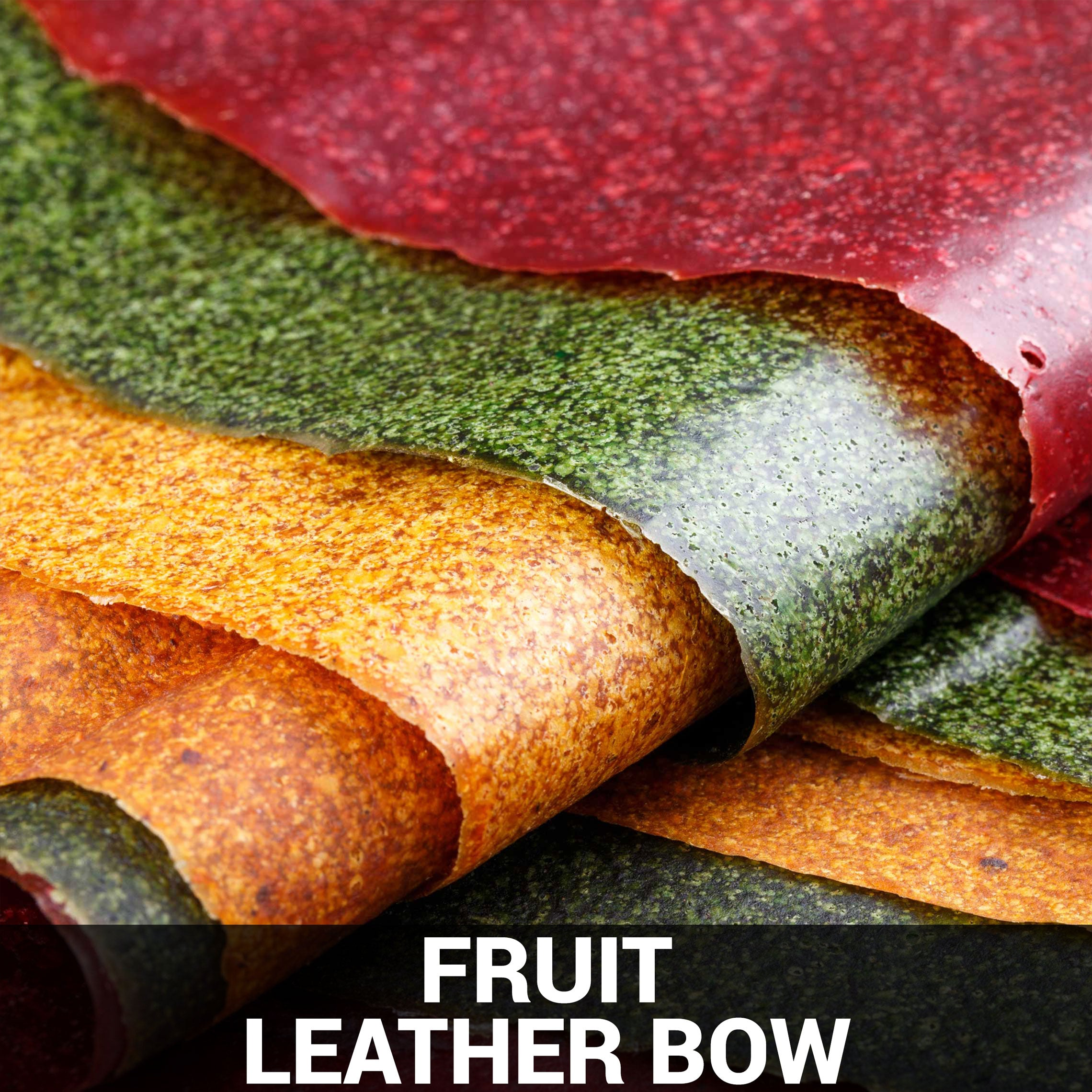 Fruit Leather Bow Recipe - Foods Alive