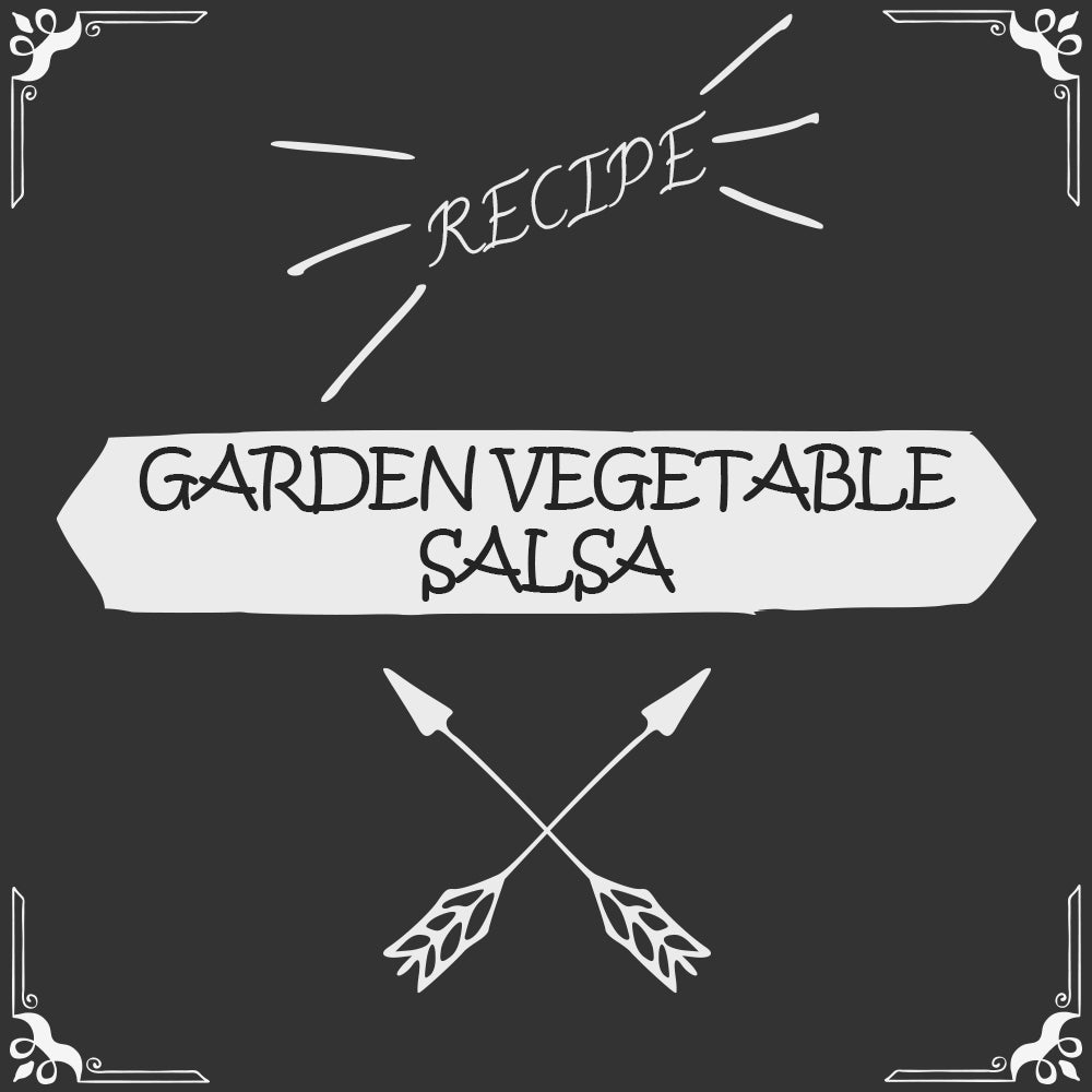 Garden Vegetable Salsa Recipe - Foods Alive