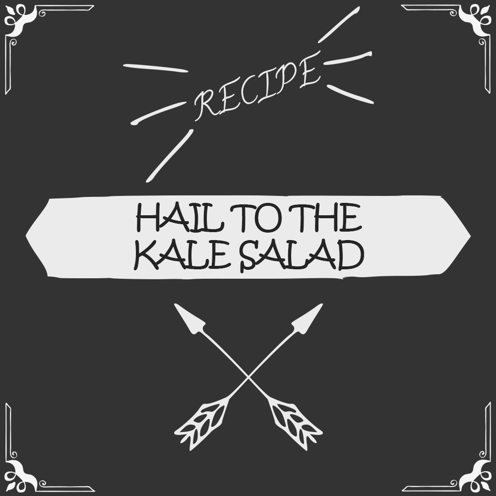 Hail to the Kale Salad Recipe - Foods Alive